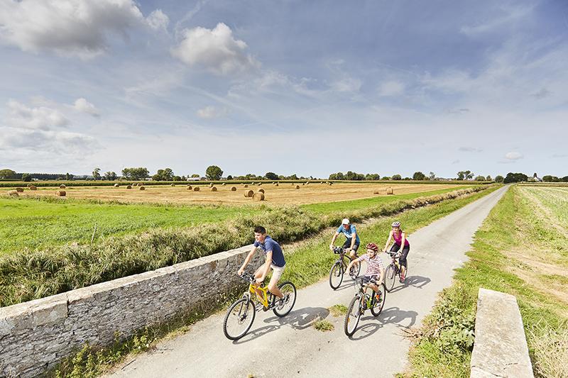 Les véloroutes et voies vertes ont développé le tourisme en Bretagne intérieure. ©A.Lamoureux.