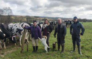 Le printemps est synonyme d'un regain d'activité pour le monde agricole. Au GAEC Pitel, tout le monde est sur le pont.