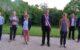 Sept maires délégués entourent Gérard Daboudet pour ce nouveau mandat, dont deux femmes : Roselyne Rocaboy à Plessala et Arlette Hingant à St Gilles du Mené.