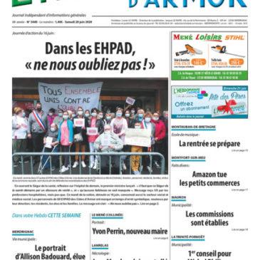 L'Hebdo d'Armor n°3440 du samedi 20 juin 2020