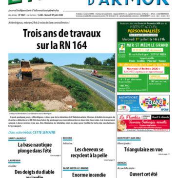 Hebdomadaire d'Armor - samedi 27 juin 2020 - n°3441