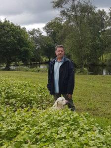 Claude Delahaye est producteur de blé noir et maire de Mérillac.