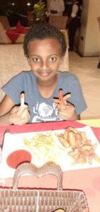 Rien de tel qu'un hot-dog Ethiopien pour récupérer des émotions !