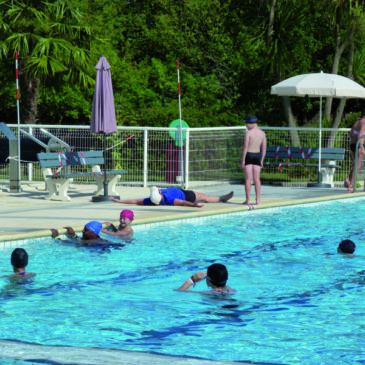 En raison d'un protocole très strict, les bassins ne connaissent pas d'affluence.