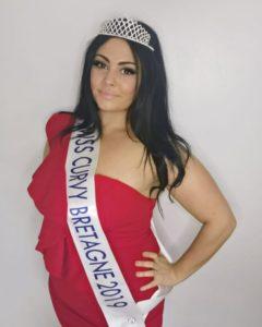 Camille Besson de Saint Vran fait partie des quinze candidates en lice au concours national Miss Curvy.